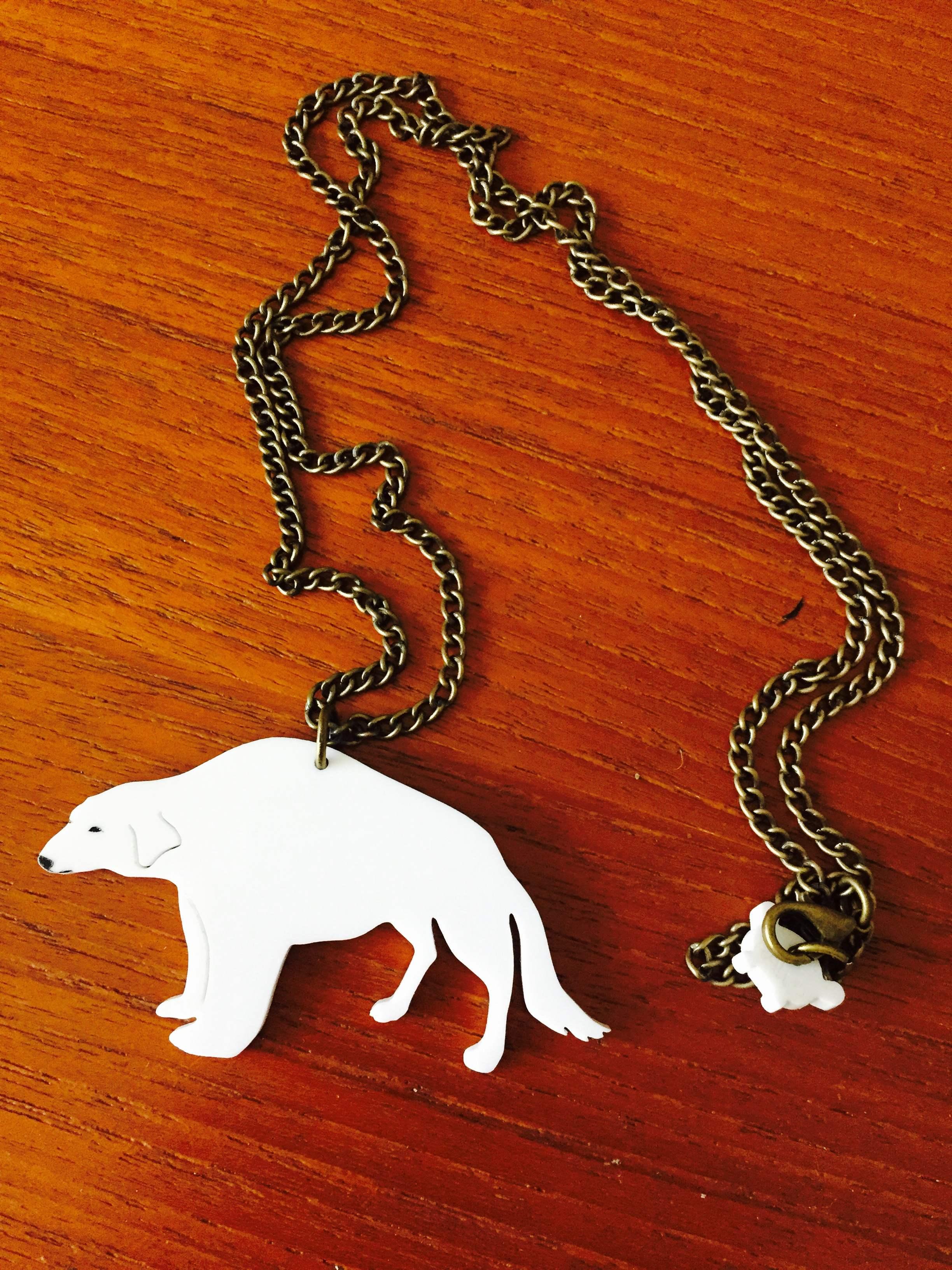 Autographed Naga Necklace